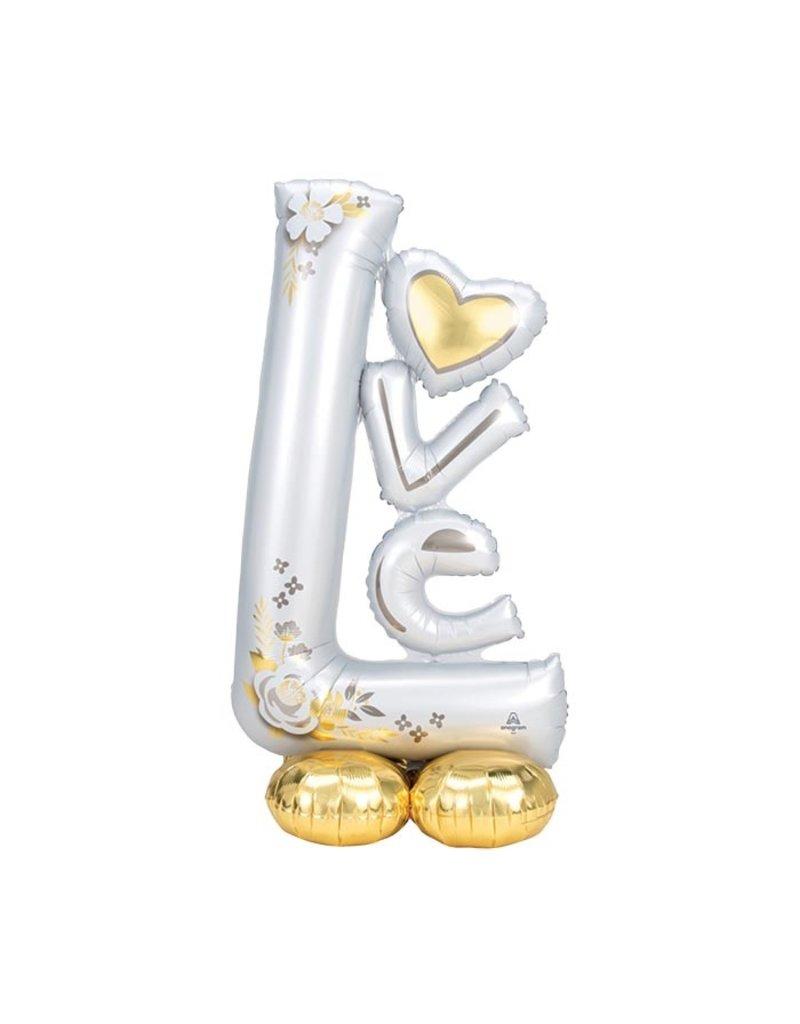 Anagram BALLON MYLAR AIRLOONZ - LOVE - MARIAGE
