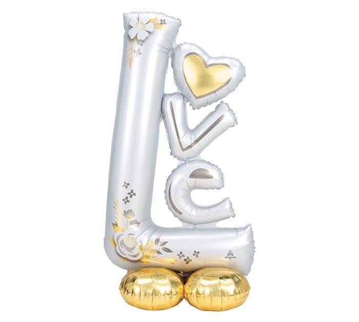Anagram AIRLOONZ MYLAR LOVE - MARIAGE