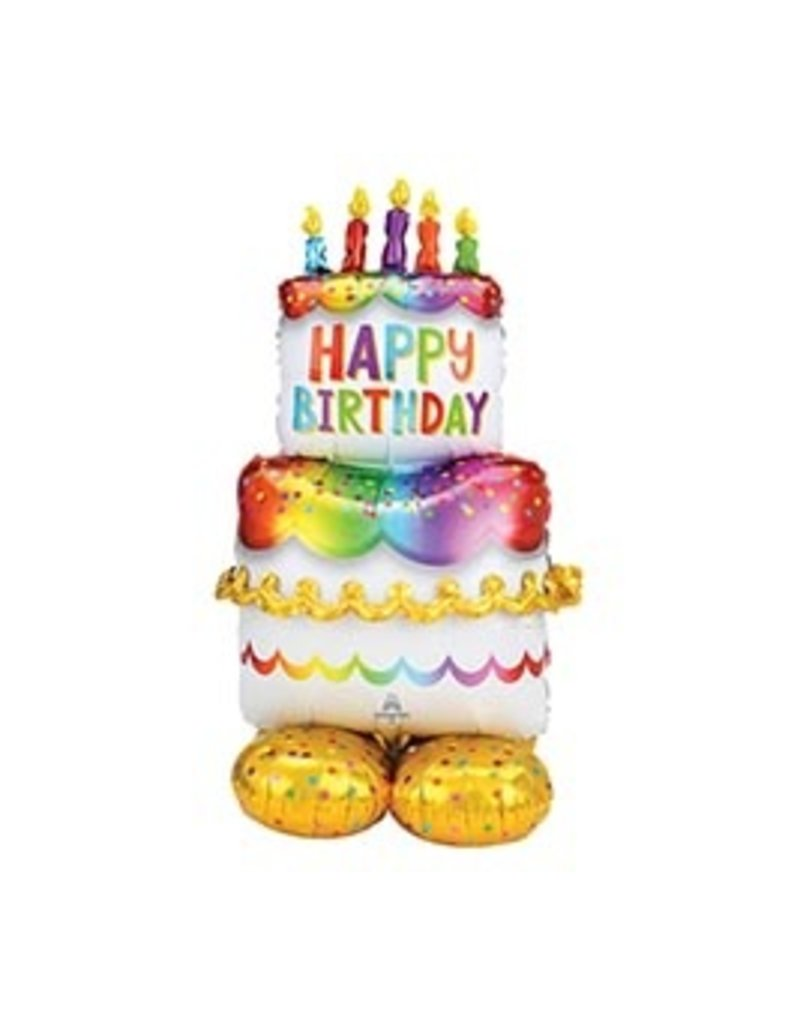 Anagram BALLON MYLAR AIRLOONZ - HAPPY BIRTHDAY