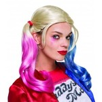 RUBIES PERRUQUE ADULTE DELUXE HARLEY QUINN
