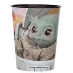 Unique VERRE PLASTIQUE 16OZ - MANDALORIAN (STAR WARS)