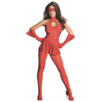RUBIES COSTUME ADULTE FEMME - THE FLASH - SMALL