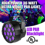 VISUAL EFFECTS BLACKLIGHT LED PROFESSIONNEL