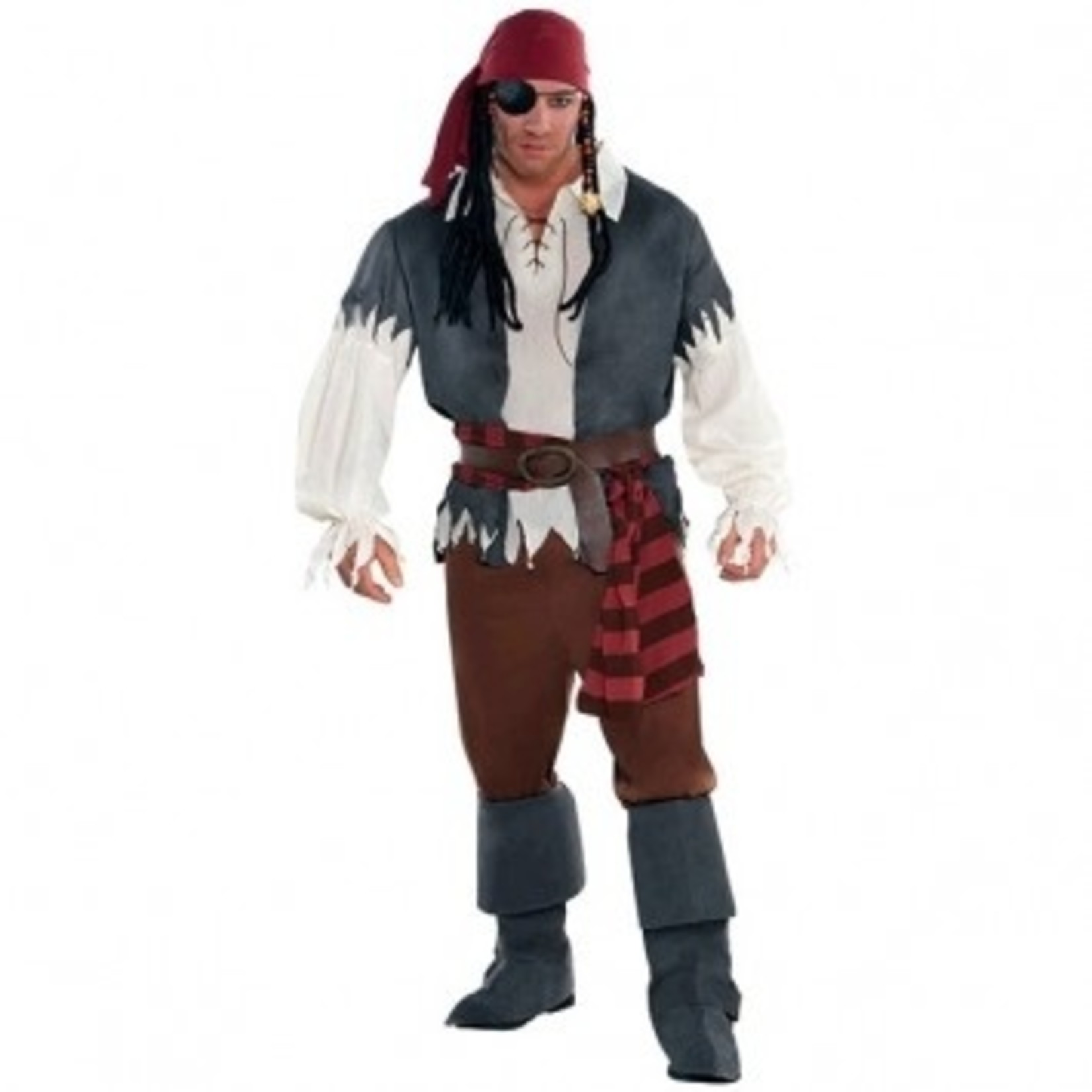 Amscan COSTUME ADULTE CAPITAINE CASTAWAY