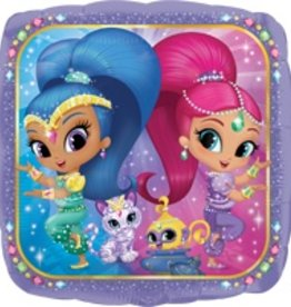 Qualatex BALLON MYLAR 18PO SHIMMER AND SHINE