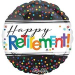 Anagram BALLON MYLAR 18PO - HAPPY RETIREMENT