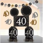 Amscan ENSEMBLE DE DÉCORATIONS - 40 ANS