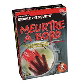 GLADIUS JEUX MEURTRE & MYSTÈRE - MEURTRE À BORD
