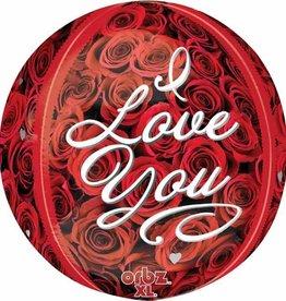 Anagram BALLON ORBZ ROSES - I LOVE YOU