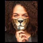 FAUX REAL MASQUE COVID - FAUX REAL - FACE DE LION