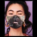 FAUX REAL MASQUE COVID - FAUX REAL - FACE DE CHIEN PUG