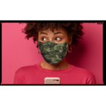 FAUX REAL MASQUE COVID - FAUX REAL - CAMOUFLAGE VERT