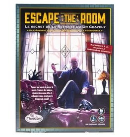 ASMODEE JEUX DE SOCIÉTÉ - ESCAPE THE ROOM : LE SECRET DE LA RETRAITE DU DR. GRAVELY