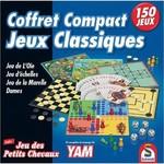 ASMODEE JEUX DE SOCIÉTÉ - 150 JEUX COMPACT - ÉDITION FRANÇAISE