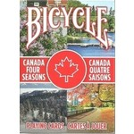 ASMODEE CANADA FOUR SEASONS BICYCLE PLAYING CARDS