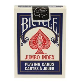 ASMODEE JEUX DE CARTES - BICYCLE DECK INDEX JUMBO