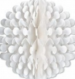 Beistle Co. DÉCORATION A SUSPENDRE-FLUTTER BALL-BLANC