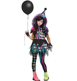FUN WORLD COSTUME ENFANT CLOWNETTE DÉRANGÉE