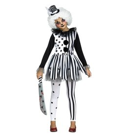 FUN WORLD COSTUME ENFANT CLOWNETTE TUEUSE