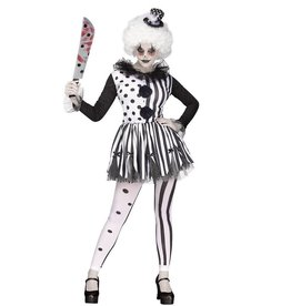 FUN WORLD COSTUME ADULTE CLOWNETTE DANGEUREUSE