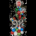 PARTY SHOP Copy of MONTAGE BALLONS #40 - CÉLÉBRATIONS 50 ANS