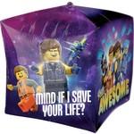 Anagram BALLON MYLAR CUBEZ LEGO MOVIE 2