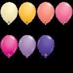 PARTY SHOP BALLON LATEX 11PO COULEURS MODE #1 :