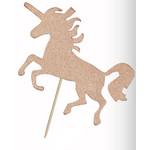 Forum Novelty *DECORATION DE GATEAU - LICORNE ROSE GOLD