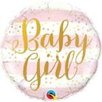 Qualatex BALLON MYLAR 18PO - BABY GIRL