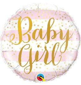 "Qualatex BALLON MYLAR 18"" - BABY GIRL"