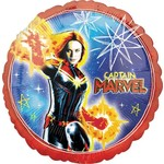 Amscan BALLON MYLAR 18PO - CAPTAIN MARVEL