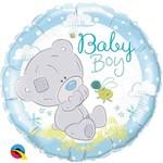 Qualatex BALLON MYLAR 18PO - OURSON BABY BOY