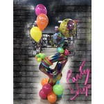 PARTY SHOP BALLOON BOUQUET #42 - TROLLS MAGNIFICO