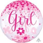 Anagram BALLON MYLAR SUPERSHAPE - CONFETTIS  - IT'S A GIRL