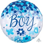 Anagram BALLON MYLAR SUPERSHAPE - CONFETTIS - IT'S A BOY