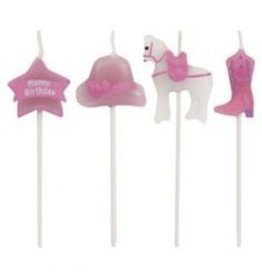 Creative Converting Candles, Molded Pick Sets, Horse
