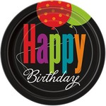 Unique ASSIETTES 9PO HAPPY BIRTHDAY (8)