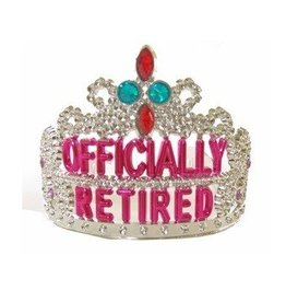 Forum Novelty COURONNE OFFICIALLLY RETIRED