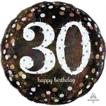 Anagram BALLON MYLAR SUPERSHAPE - 30 ANS JUMBO