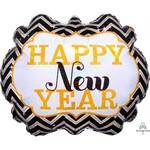 Anagram BALLON MYLAR SUPERSHAPE - HAPPY NEW YEAR