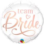 Qualatex BALLON MYLAR 18PO - TEAM BRIDE