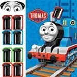 Amscan JEU DE FETE THOMAS LE TRAIN VERSION 2
