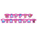 Unique BANDEROLE HAPPY BIRTHDAY - PAT' PATROUILLE FILLE