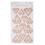 SKD PARTY AUTOCOLLANTS DIAMANTS - ROSEGOLD
