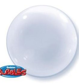 "Qualatex DECO BUBBLE 24"" CLEAR"