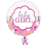 Anagram BALLON MYLAR 18PO - BABY GIRL