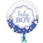 Anagram BALLON MYLAR 18PO - BABY BOY