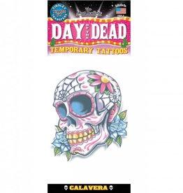 TINSLEY TEMP TATTOOS - DAY OF THE DEAD CALAVERAS DE AZUCAR