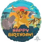 Anagram BALLON MYLAR 18PO - THE LION GUARD HAPPY BDAY
