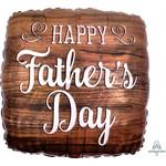 "Qualatex BALLON MYLAR 18"" - HAPPY FATHERS DAY"